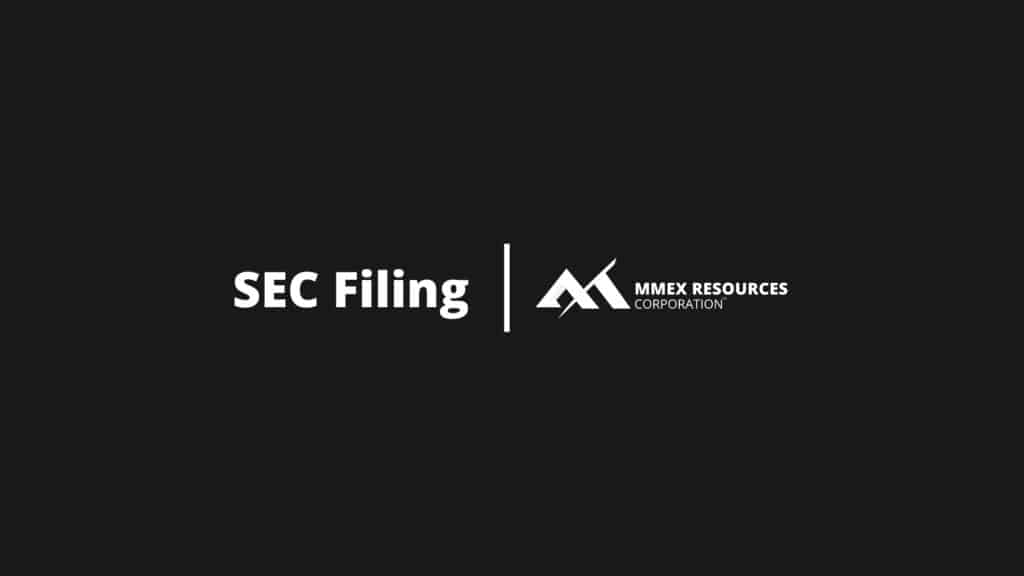 MMEX Blog Category Featured Image - SEC Filing