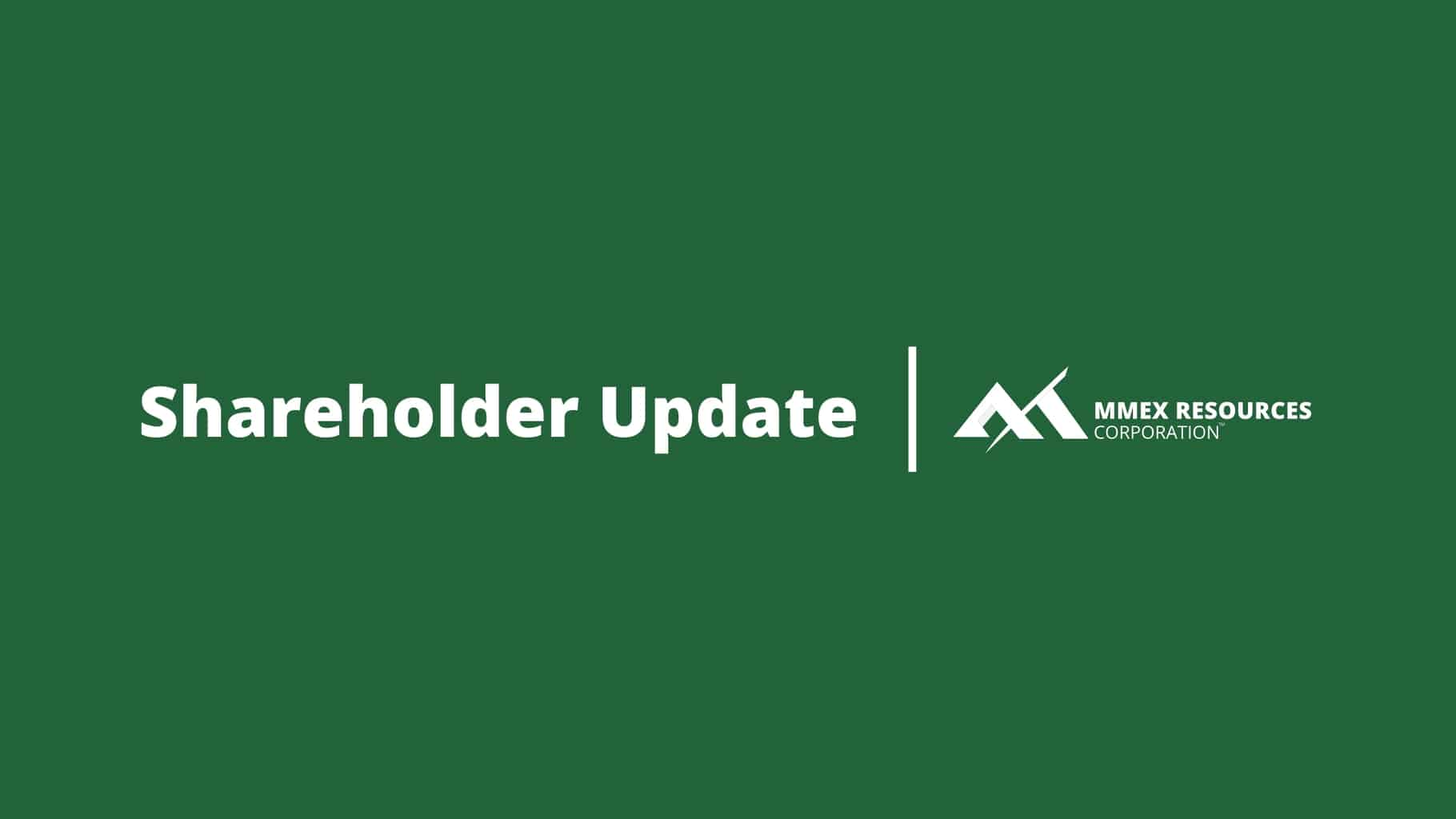 MMEX Blog Category Featured Image - Shareholder Update