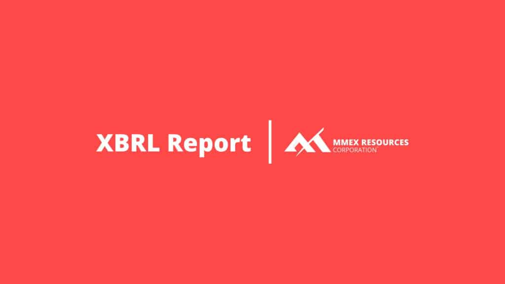 MMEX Blog Category Featured Image - XBRL Report